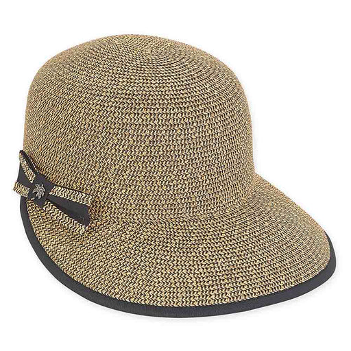 Wide Brim Cap Hat with Side Bow - Sun 'N' Sand