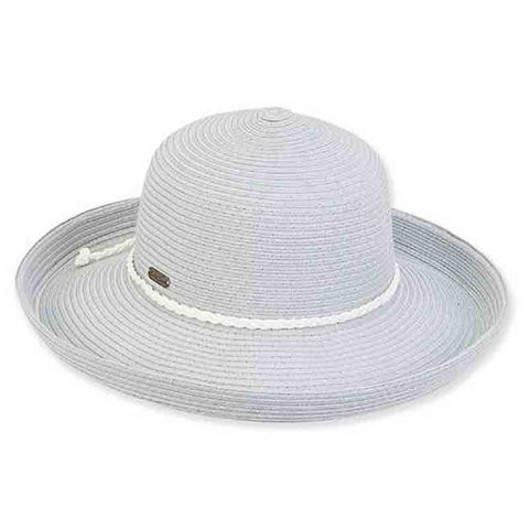 0ba90b3a2e9 Lia Packable Up Turned Brim Sun Hat by Sun n Sand