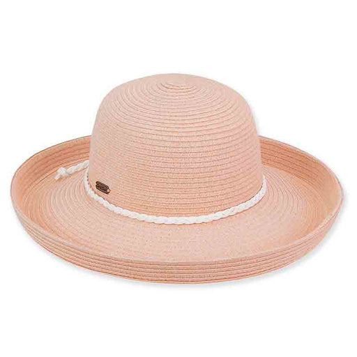 Lia Packable Up Turned Brim Sun Hat by Sun'n'Sand