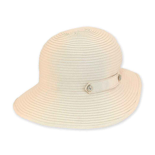 Petite Size Packable Ribbon Sun Hat - Sunny Dayz™
