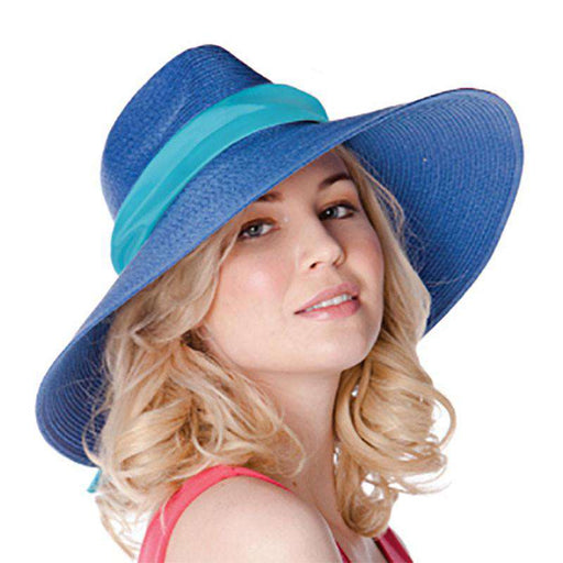 Toyo Straw Large Fedora Sun Hat - SetarTrading Hats