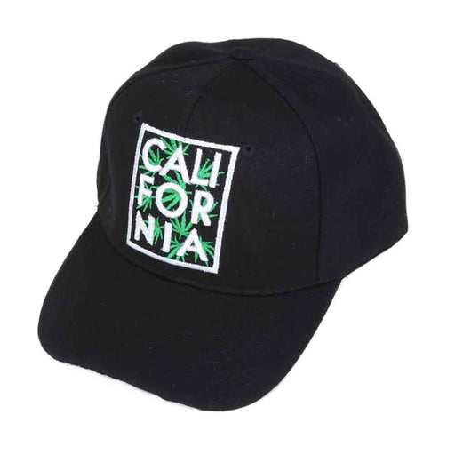 Pot Leaf California Baseball Cap