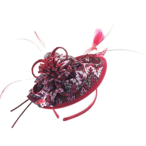 Round Lace Fascinator