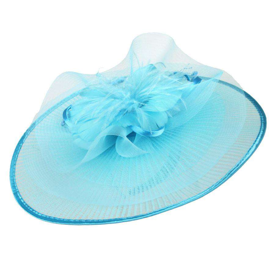 Crimped Organza Fascinator - SetarTrading Hats