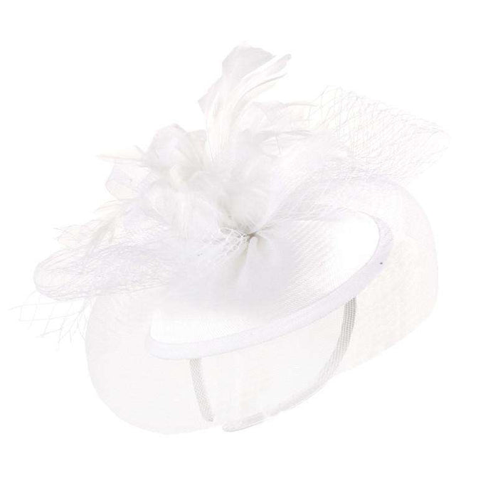 Mesh Veil and Nettin Bow Fascinator - SetarTrading Hats