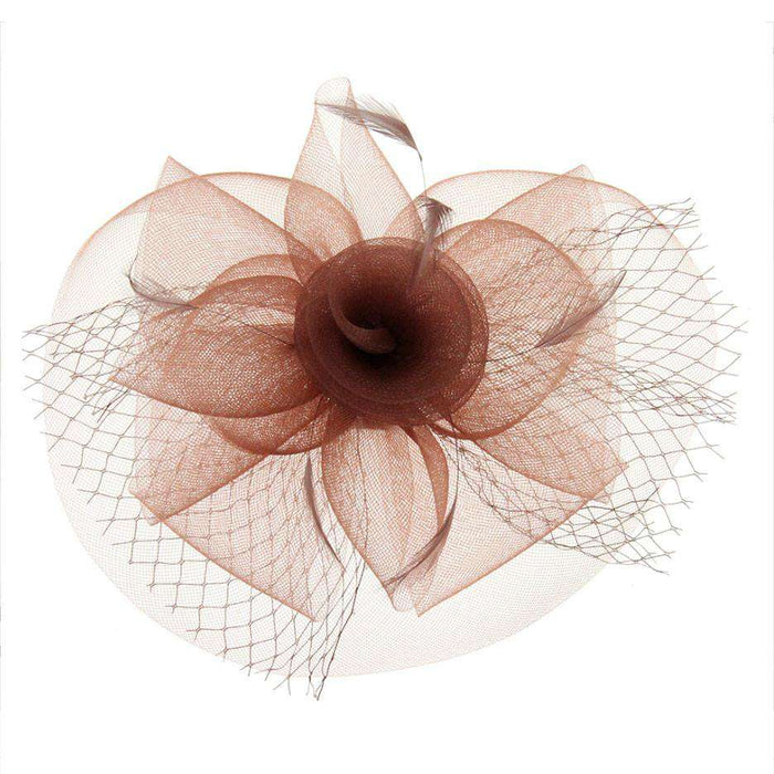 Mesh Rose Fascinator - SetarTrading Hats