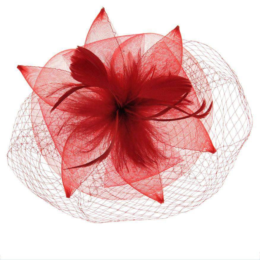 Mesh Petal Fascinator - SetarTrading Hats