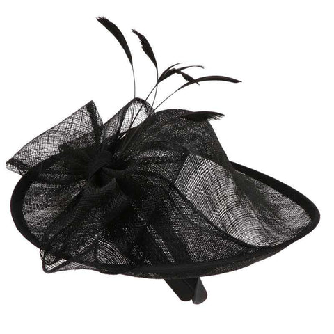 Sinamay Hat Fascinator