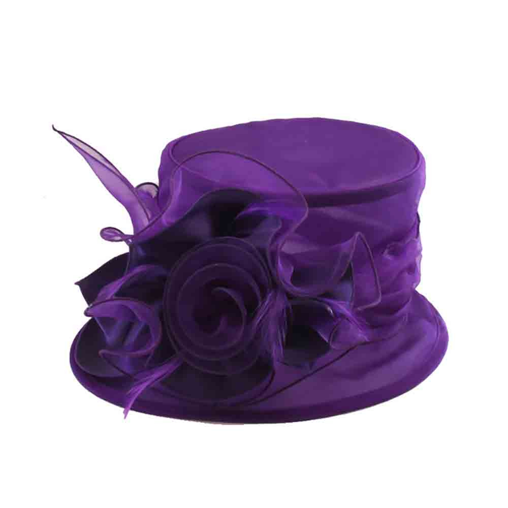 Small Organza Dress Hat - Sophia Collection