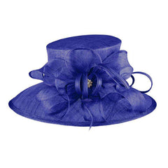 Sinamay Hat with Loopy Bow - SetarTrading Hats