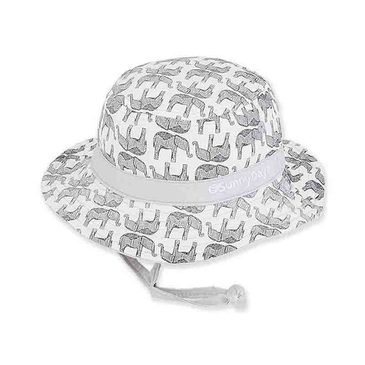 Infant Boy's Reversible Elephant Print Cotton Bucket Hat - Sunny Dayz™