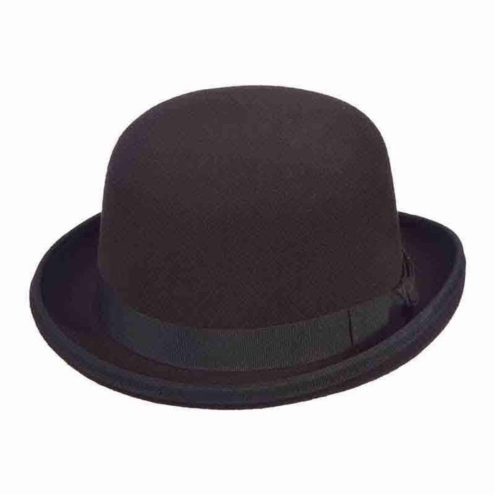 Classic Stiff Wool Felt Bowler Hat by JSA for Men - SetarTrading Hats
