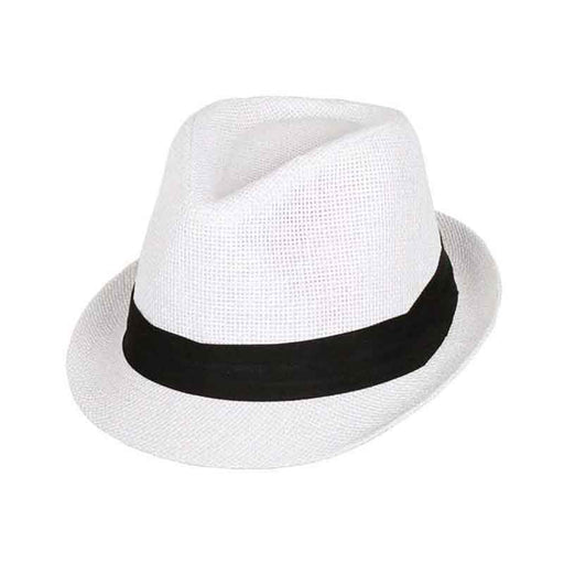 Kid's Straw Summer Fedora by Milani