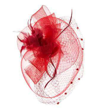 Dotted Netting Fascinator - SetarTrading Hats