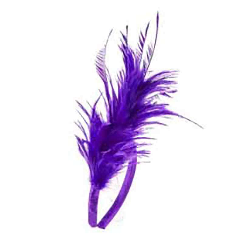 Feather Puff Headband - SetarTrading Hats