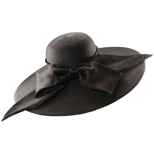 Scala Summer Hat with Huge Satin Bow - SetarTrading Hats