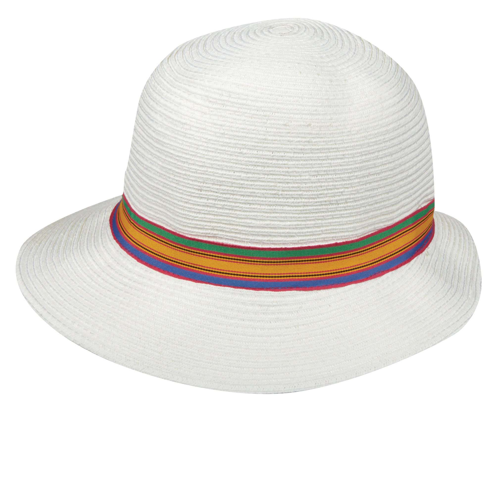 Tropical Trends Wavy Brim Cloche - SetarTrading Hats