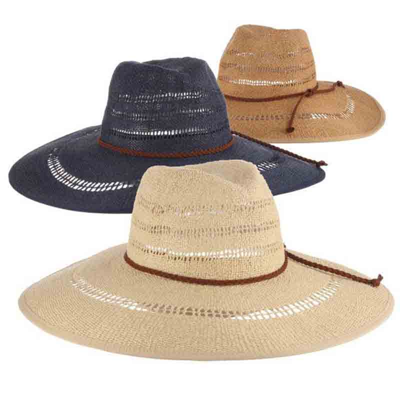 lt226 scala collezione women's bangkok toyo large brim safari sun hat