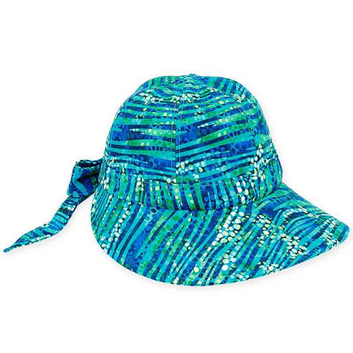 Lycra® Performance Water Bubbles Facesaver Cap - Sun 'n' Sand®