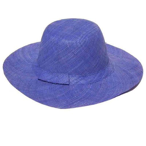 Madagascar Raffia Solid Color Beach Hats