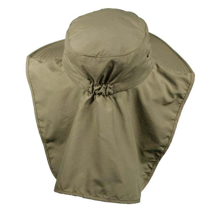 Supplex® Nylon Boonie with Sun Shield - DPC Outdoor Hats