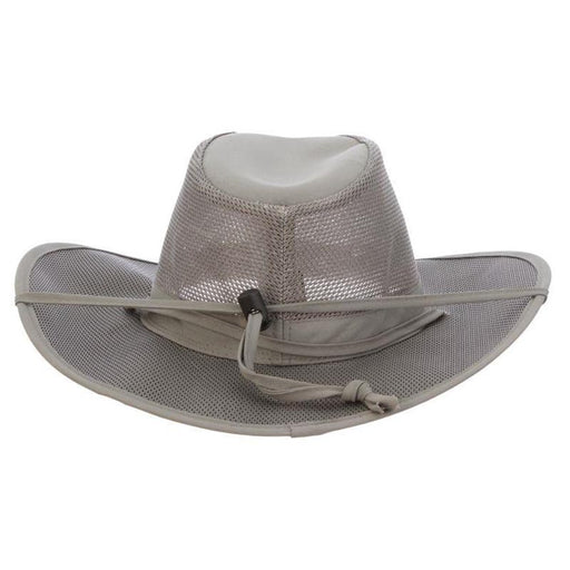 Stetson No Fly Zone Mesh Brim Safari Hat - Willow