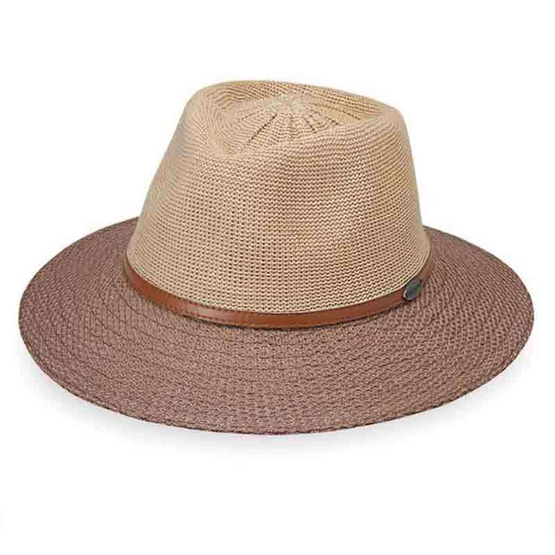 Monroe Two-Tone Fedora by Wallaroo