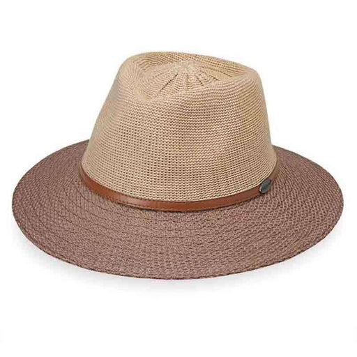 Monroe Two-Tone Fedora by Wallaroo Hats