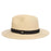 Fine Braid Safari Hat with Black Band - Scala Hats for Men