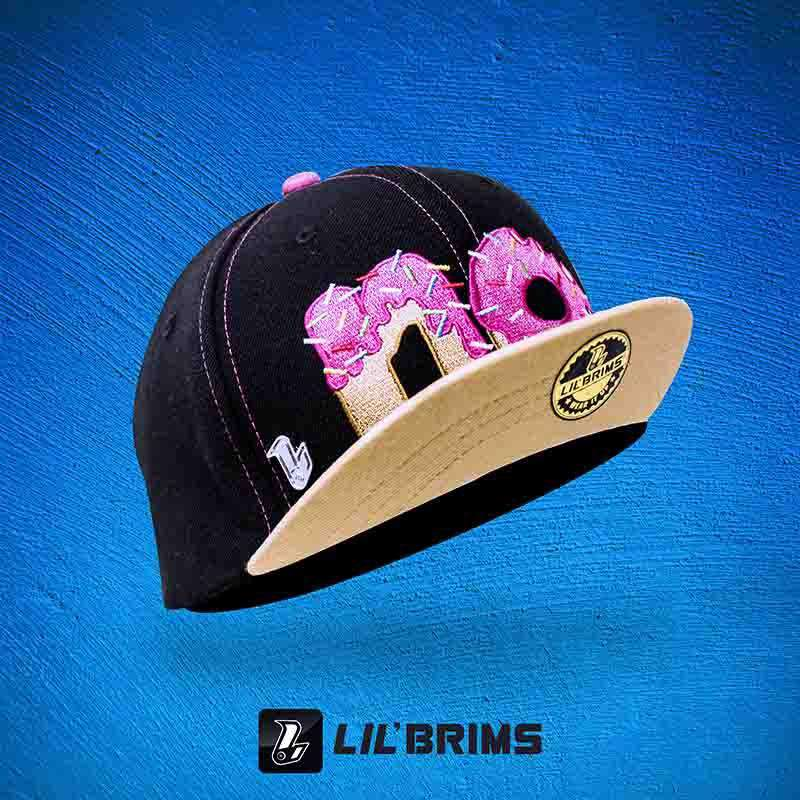 No Donut  LIL'BRIMS - Black