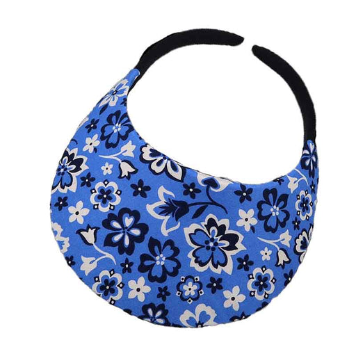 No Headache® Midsize Clip On Bandana Print Sun Visor