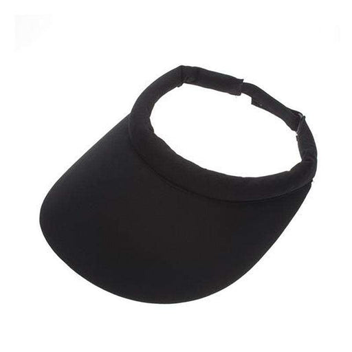 No Headache® Club Sun Visor with Rolled Comfort Band