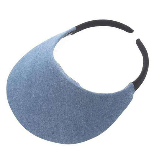 No Headache® Midsize Clip On Denim Sun Visor