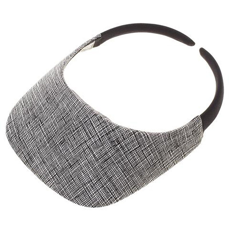 No Headache® Original Clip On Sun Visor in Architecture Pattern Fabric