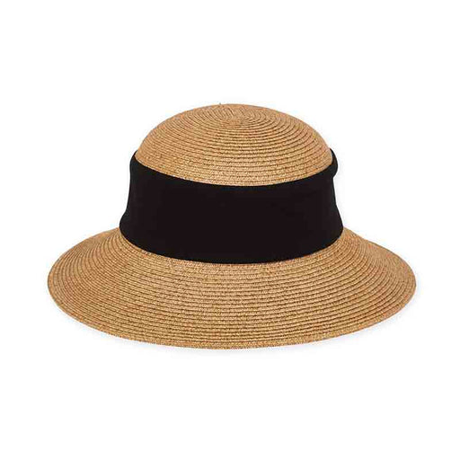 Petite Wide Brim Collapsible Sun Hat - Sunny Dayz™