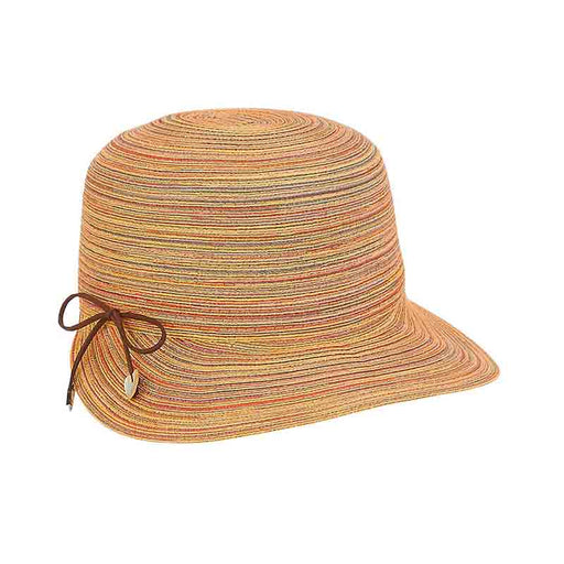 Petite Polybraid Brim Cap with Metallic Thread - Sunny Dayz™