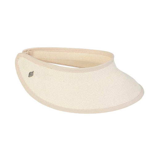 Petite Straw Sun Visor with Elastic Closure - Sunny Dayz™