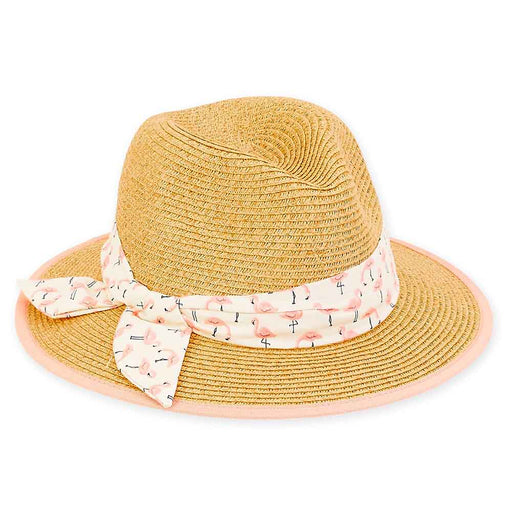 Petite Straw Safari Hat with Cotton Band - Sunny Dayz™