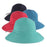 Small Heads Shapeable Brim Packable Ribbon Bucket Hat - Scala Hats