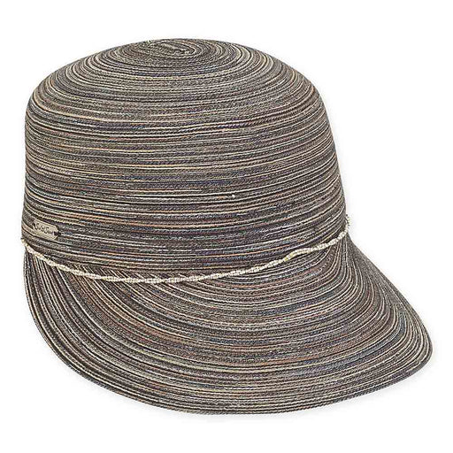 Poly-Cotton Fashion Cap with Metallic Lurex - Sun'N'Sand® Hats