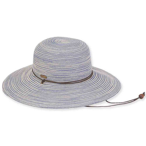 Polybraid Floppy Hat with Chin Cord - Sun'N'Sand  Hats