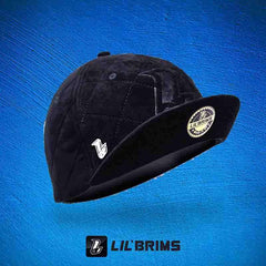 Quilted  LIL'BRIMS - Black