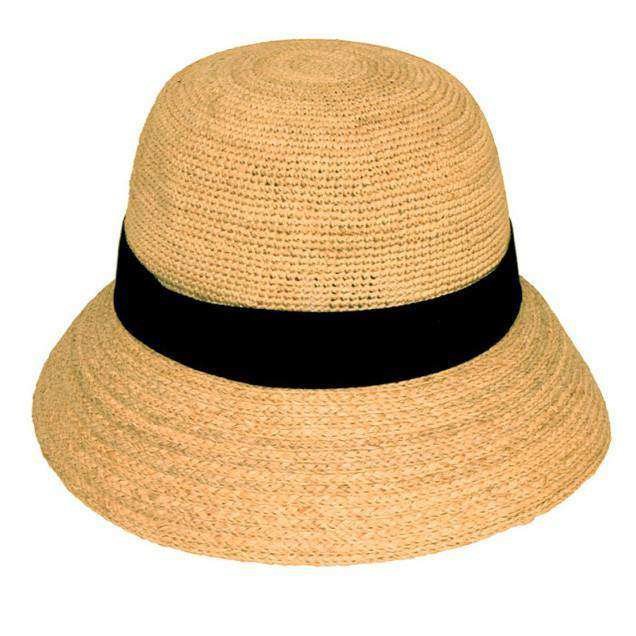 Crochet Raffia Bucket Hat - SetarTrading Hats