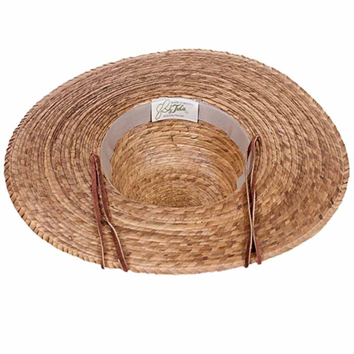 ranch hat for women elegant natural palm leaf handcrafted hat upf50 inside