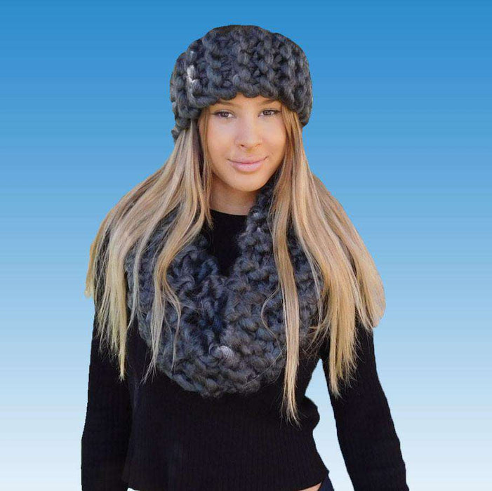 Chunky Rib-Knit Headband - SetarTrading Hats