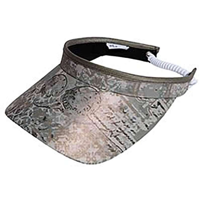 Vienna Golf Sun Visor with Coil Lace by GloveIt