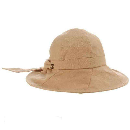 d8853c0c Sag Harbor Rough Cotton Shapeable Brim Cloche - Callanan