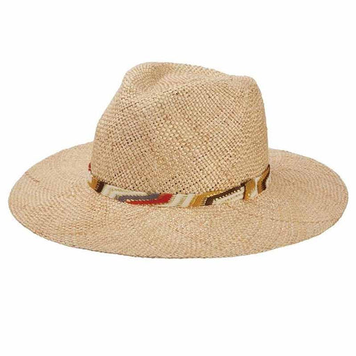 Saltaire Hand Woven Bao Straw Women's Safari Hat - Brooklyn Hats