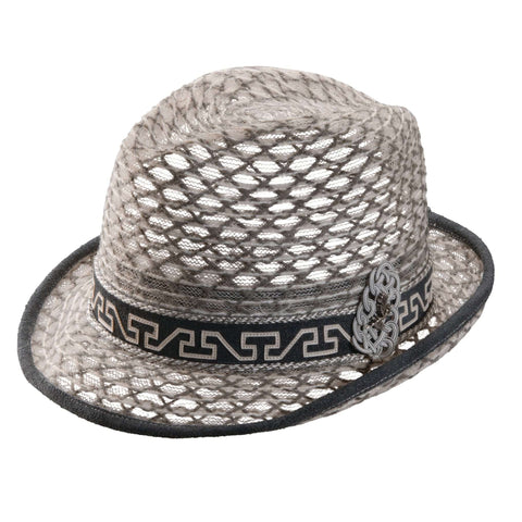 Carlos Santana Threaded Braid Fedora