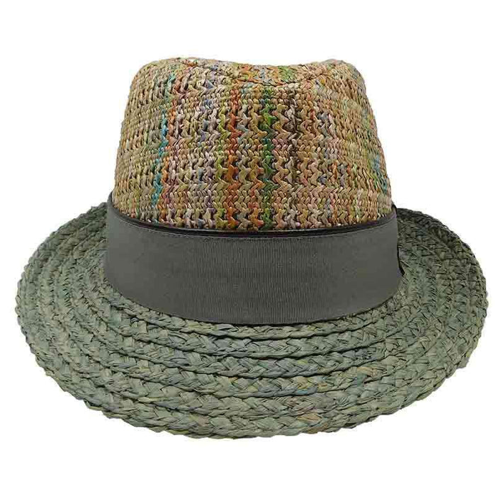 Carlos Santana Multi Color Fedora - SetarTrading Hats